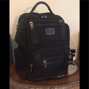 Тumi Alpha Bravo Kingsville Deluxe backpack.